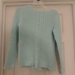 Lands' End Cable Knit Sweater